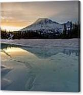 Frozen Rainier Vision Canvas Print