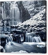 Frozen Scaleber Force Falls Canvas Print