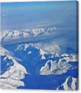 Frozen World Canvas Print