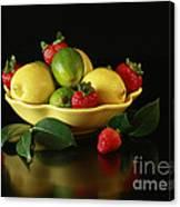 Fruit Explosion Canvas Print