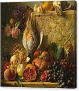 Fruit Flowers And Game Canvas Print