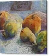 Fruit In Moonlight Canvas Print