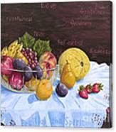 Fruit Of The Spirit Canvas Print