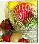 Fruit Still Life 3 Canvas Print