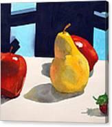 First Pear Canvas Print
