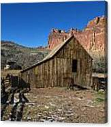 Fruita Horse Stable Capitol Reef National Park Utah Canvas Print