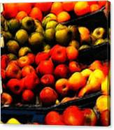 Fruits On The Market Canvas Print