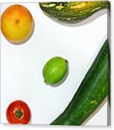 Fruits Project Canvas Print