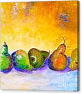Fruity Pearfection Canvas Print