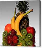 Fruity Reflections - Light Canvas Print