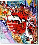 Frumoasa Si Bestia Canvas Print