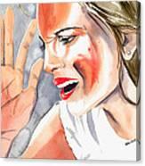 Frustration Canvas Print