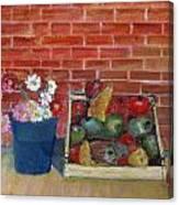 Frutta E Fiori Canvas Print