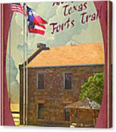 Ft Belknap Historic Site Canvas Print