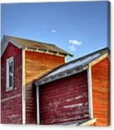 Ft Collins Barn Sunset 13505 Canvas Print