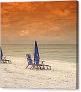 Ft. Myers Beach Canvas Print