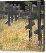 Ft. Ross Cemetary Canvas Print