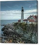 Ft. Williams Lighthouse Canvas Print