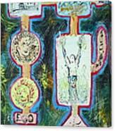 Fu-ego Canvas Print