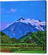 Fuego Volcano Guatamala Canvas Print