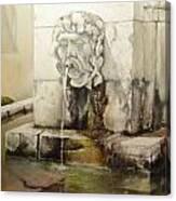 Fuente de San Isidoro Canvas Print