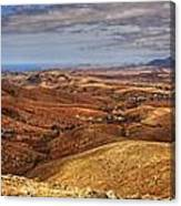 Fuerteventura Iterior Panorama Canvas Print