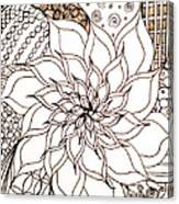 Full Bloom V Canvas Print