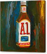 Full Flavored - A.1 Steak Sauce Canvas Print