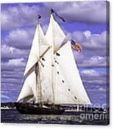 Full Sails Ahead Canvas Print
