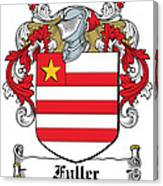 Fuller Coat Of Arms Kerry Ireland Canvas Print