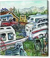 Fairbanks Landscaping Canvas Print