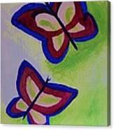 Fun Butterflies Canvas Print