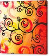 Fun Tree Of Life Impression I Canvas Print