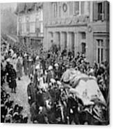 Funeral Of Queen Victoria Canvas Print