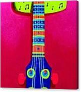 Funkadelic Guitar Canvas Print