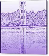 Furman Bell Tower Canvas Print