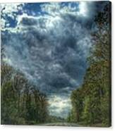 Furnace Branch Road Canvas Print