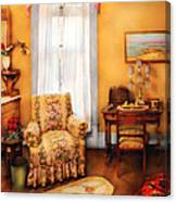 Furniture - Chair - Livingrom Retirement Canvas Print