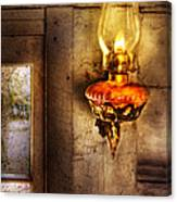 Furniture - Lamp - Kerosene Lamp Canvas Print