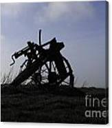 Furrow Plough Canvas Print
