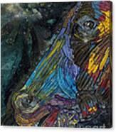 Fury Canvas Print