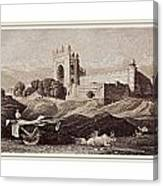 Futtepore Sikri - Agra Canvas Print