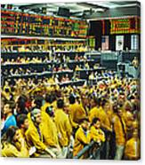 Futures And Options Traders Chicago Canvas Print