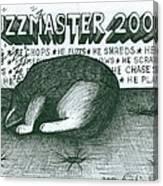 Fuzzmaster 2000 Canvas Print