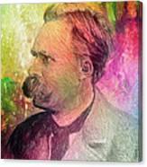F.w. Nietzsche Canvas Print