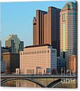 Fx1l922 Columbus Ohio Skyline Photo Canvas Print