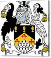 Fyan Coat Of Arms Irish Canvas Print