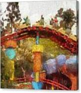 Gadget Go Coaster Disneyland Toontown Photo Art 02 Canvas Print