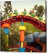 Gadget Go Coaster Disneyland Toontown Canvas Print