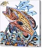 Gag Grouper Canvas Print